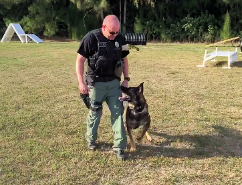 K9 Unit at the GASC
