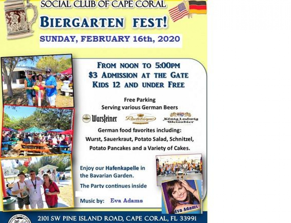 Biergarten Fest – Join us February 16th!
